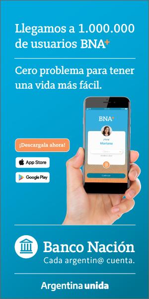 Banco Nación - App 1 millon de usuarios