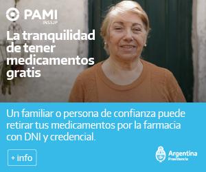 PAMI | La tranquilidad de tener medicamentos gratis